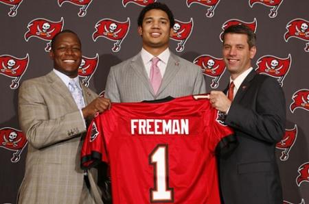 Josh Freeman, seleccion de primera ronda del Draft 2009