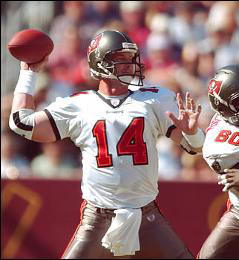 Brad Johnson, mariscal ganador del Super Bowl.